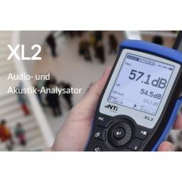 NTI XL2 Akustik Analysator / Schallpegel-Messgerät